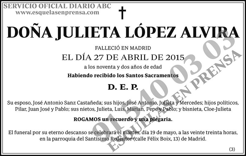 Julieta López Alvira